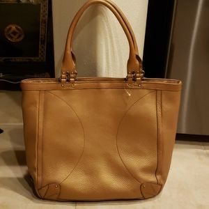 NEW COLE HAAN PEBBLED LEATHER TOTE